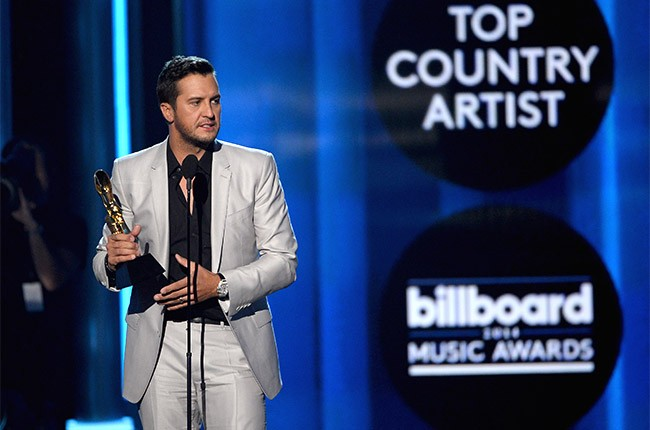 Luke Bryan at the 2014 Billboard Music Awards