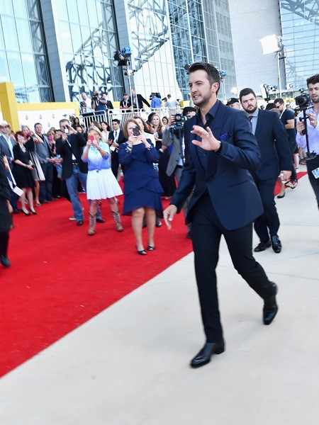 ACM host Luke Bryan attends the 50th Academy Of Country Music Awards