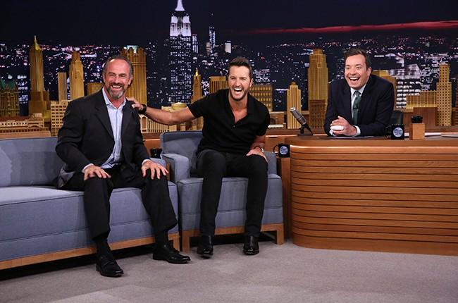 Luke Bryan Tonight Show Starring Jimmy Fallon 2015