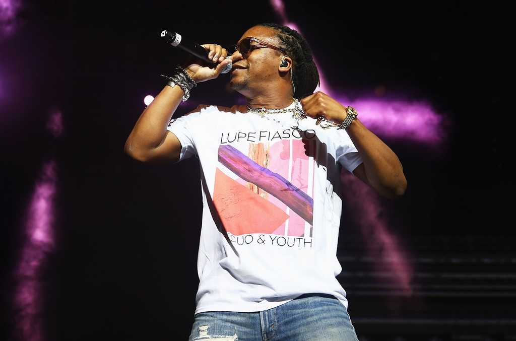 Lupe Fiasco in 2015