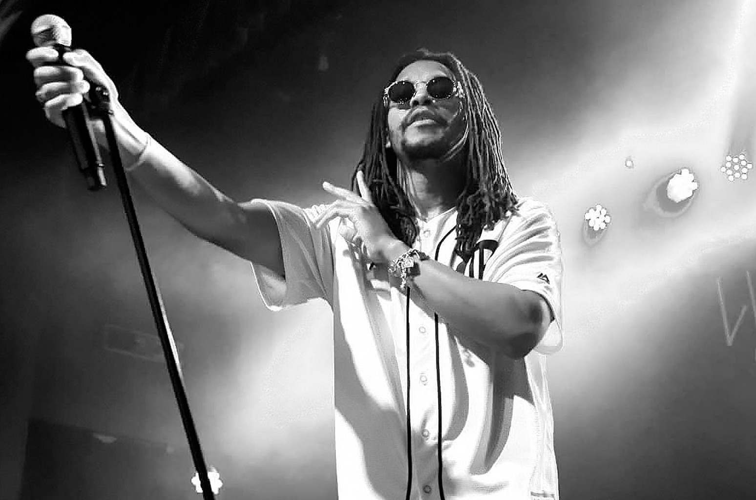 Lupe Fiasco performs in 2016