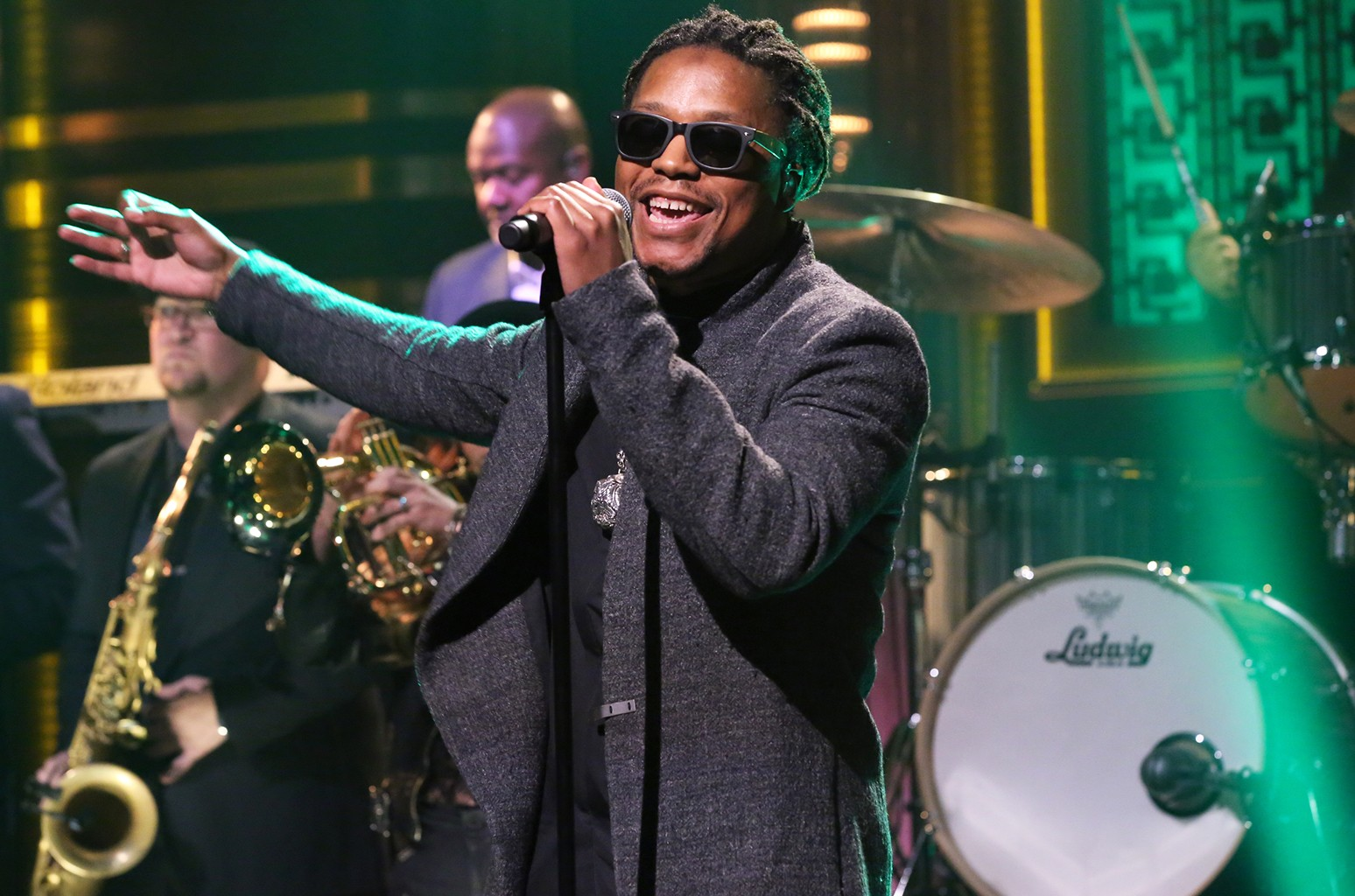 Lupe Fiasco performs in 2015