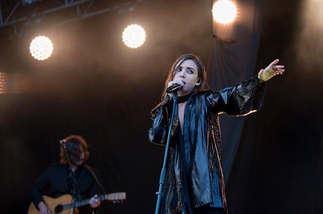 Lykke Li performs at Lollapalooza 2014