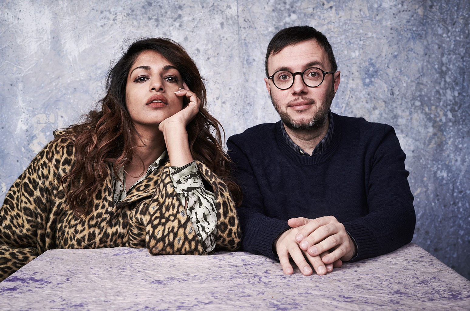 M.I.A and Steve Loveridge