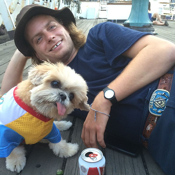 Marnie the Dog with Mac Demarco, 2014.