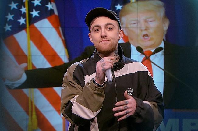 Mac Miller Larry Wilmore Nightly Show 2016