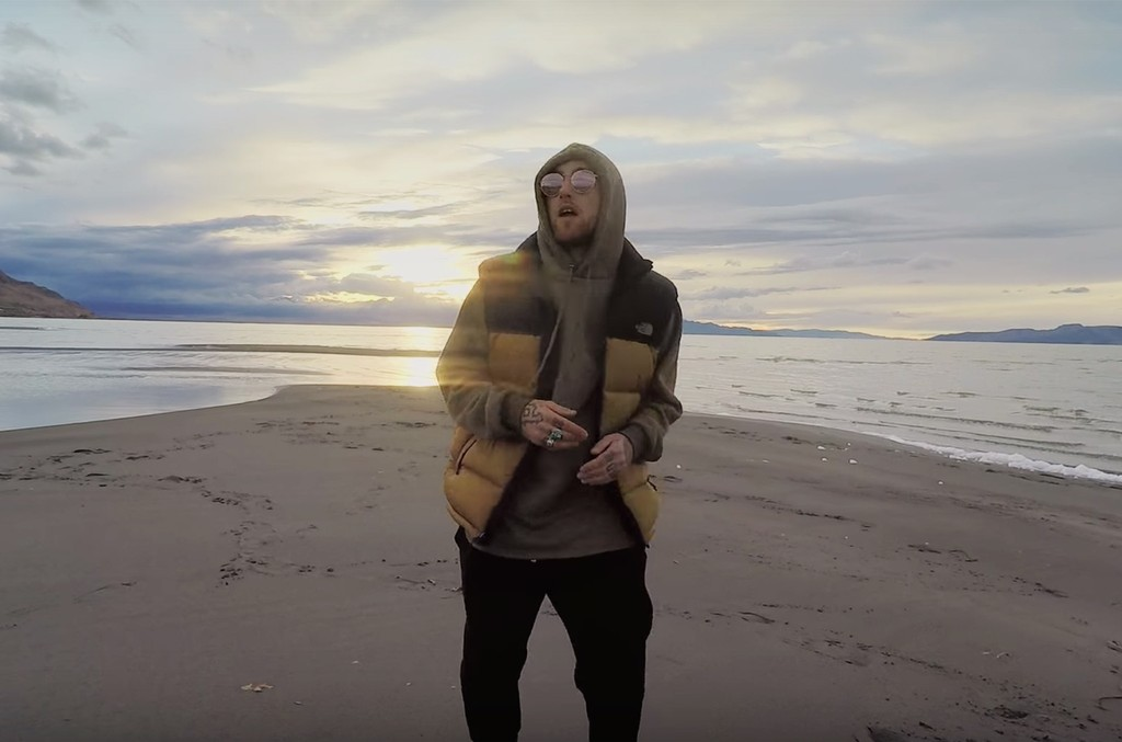 "Mac Miller in the video for ""Stay."""