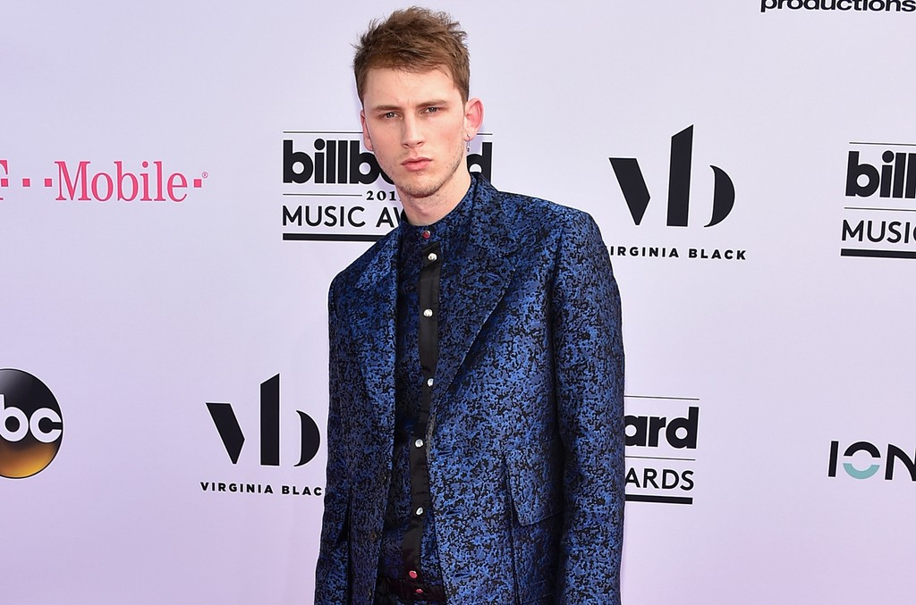 Machine Gun Kelly attends the 2017 Billboard Music Awards at T-Mobile Arena on May 21, 2017 in Las Vegas.
