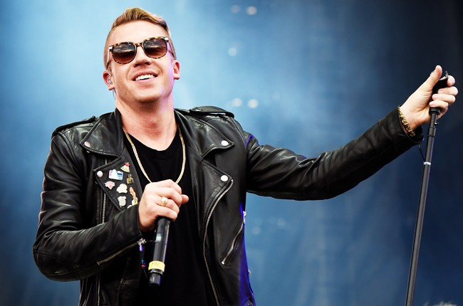Macklemore at iHeartRadio 2014