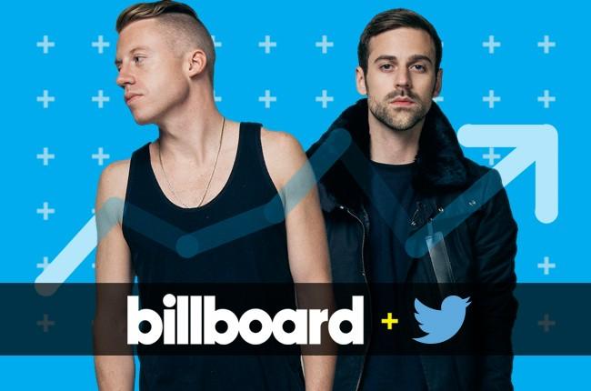Billboard+Twitter Trending 140 Chart: Macklemore & Ryan Lewis