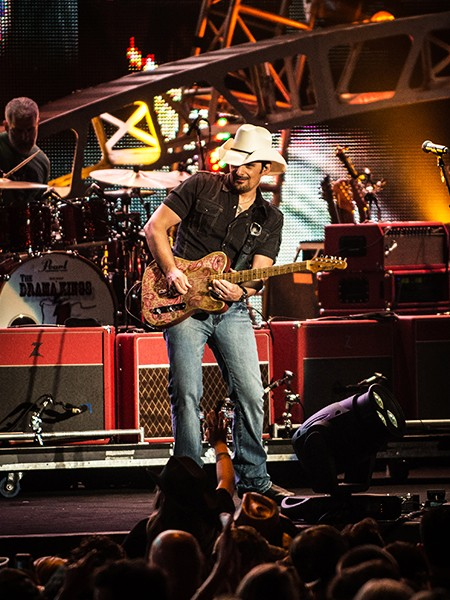 """Brad Paisley performs for """"Macy's Fourth of July Fireworks Spectacular."""""""