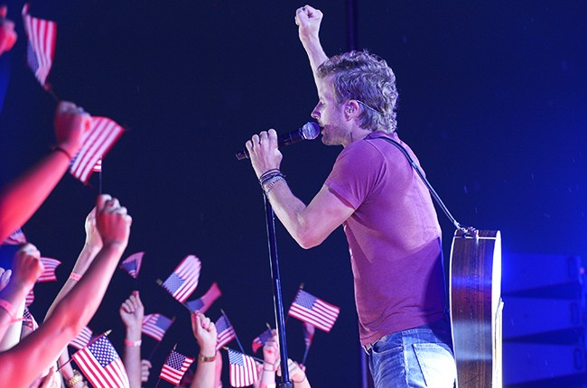 """Dierks Bentley performs for the 2015 """"Macy's Fourth of July Fireworks Spectacular."""""""
