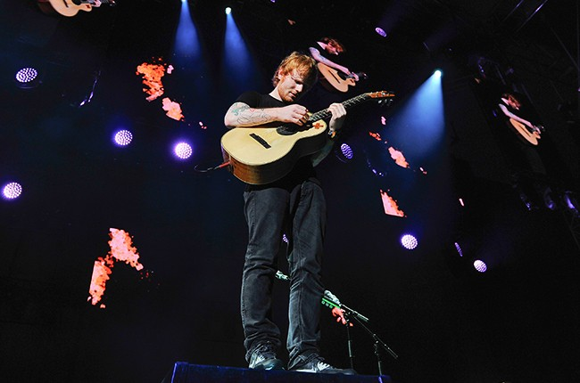 """Ed Sheeran performs for the """"Macy's Fourth of July Fireworks Spectacular."""""""