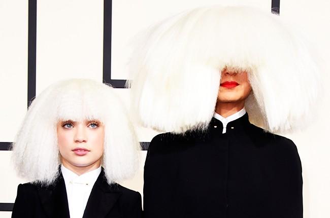 Maddie Ziegler and Sia Grammys 2015