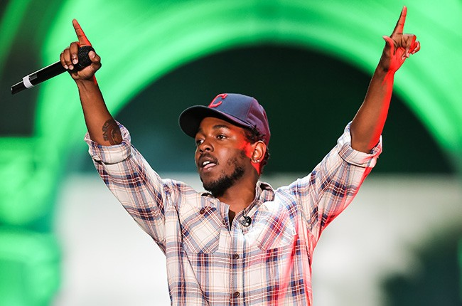 Kendrick Lamar performs at the 2014 Made In America Festival