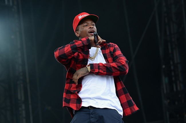 YG performs at the 2014 Made In America Festival