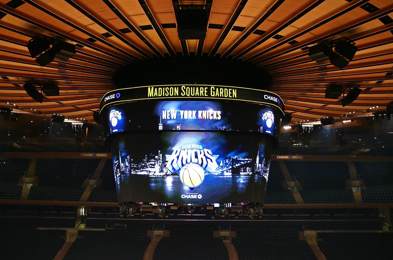 Madison Square Garden, Knicks