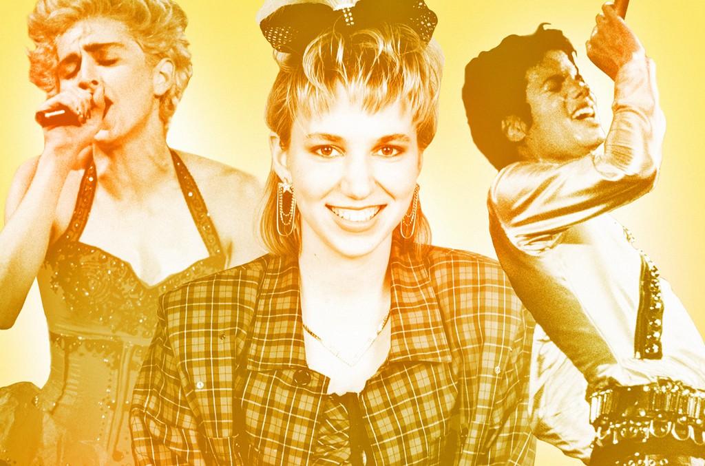 Madonna, Debbie Gibson & Michael Jackson