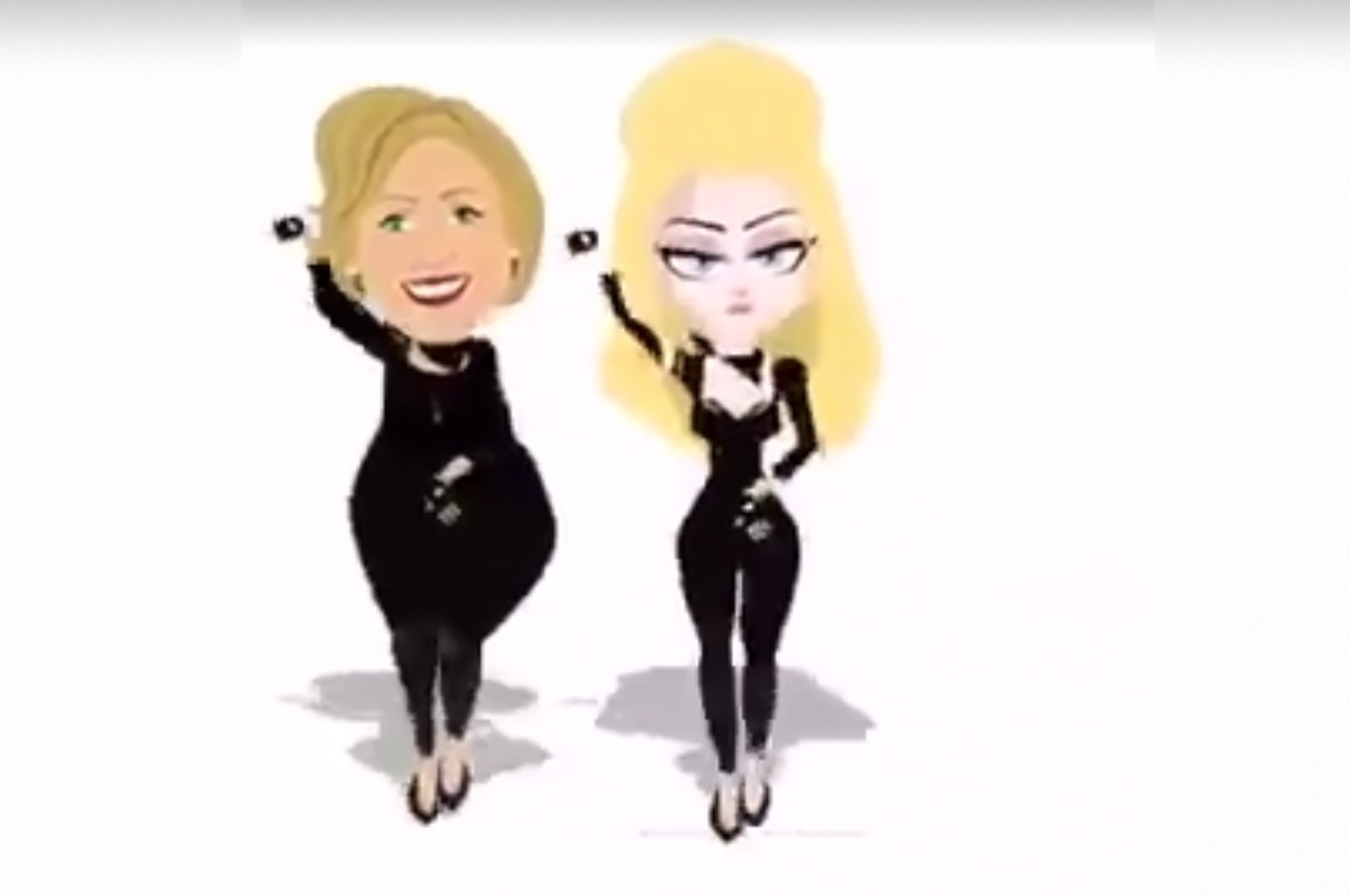 Madonna & Hillary Clinton