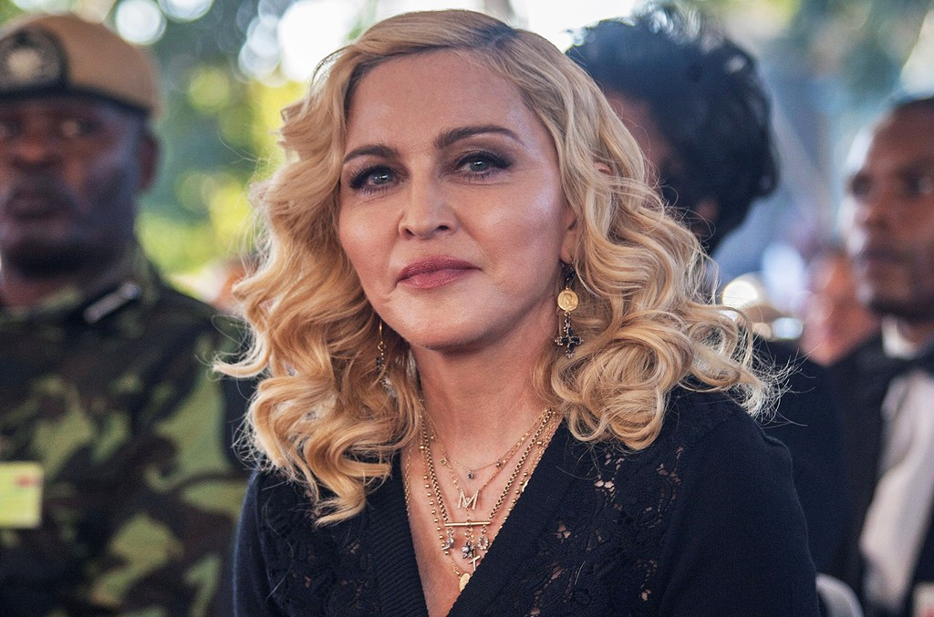 Madonna attends the opening ceremony of the Mercy James Children's Hospital at Queen Elizabeth Central Hospital in Blantyre, Malawi on July 11, 2017.