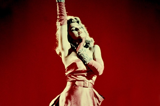 """Madonna in """"Material Girl"""""""