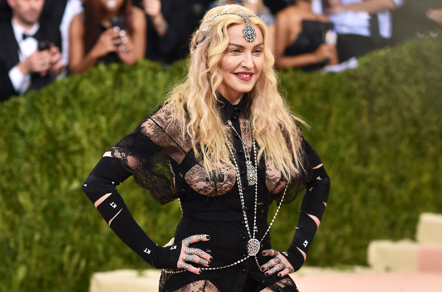 Madonna attends the 2016 Met Gala