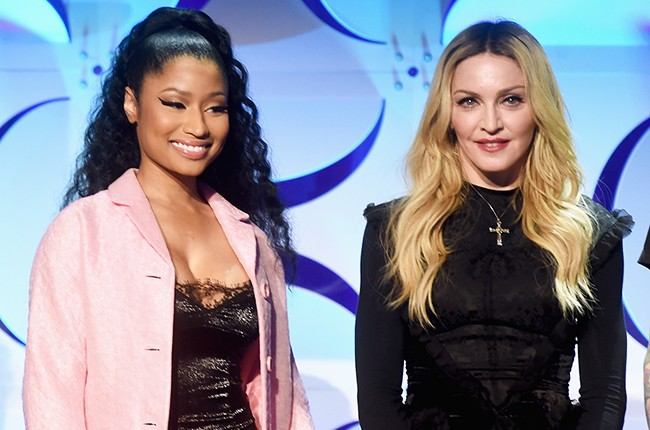 Nicki Minaj and Madonna