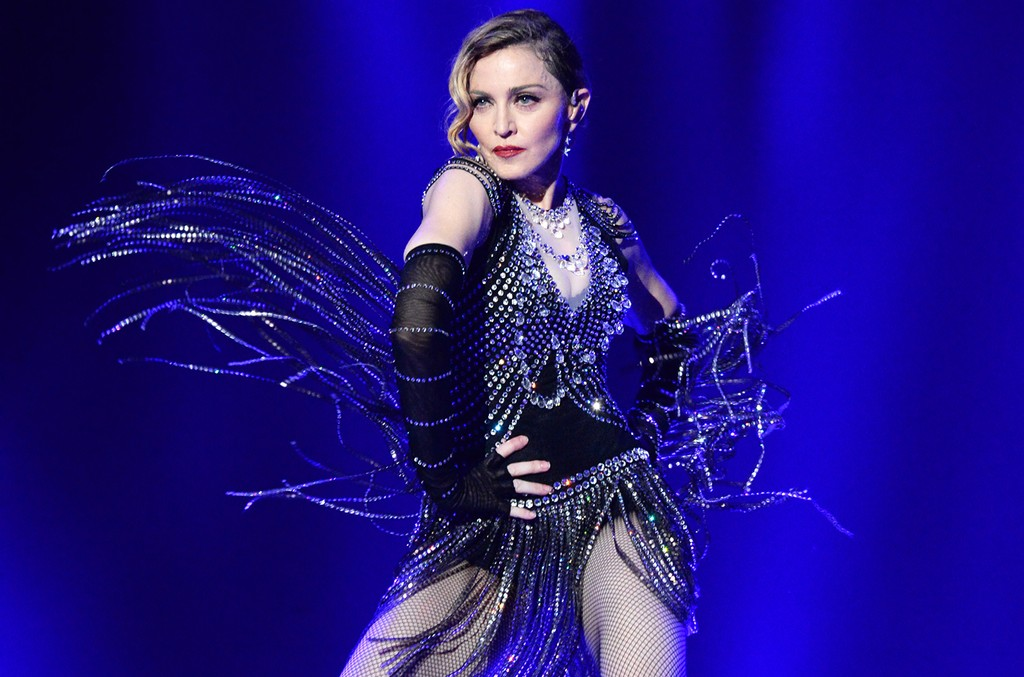 """Madonna performs during her """"Rebel Heart"""" tour opener at Bell Centre on Sept. 9, 2015 in Montreal, Canada."""