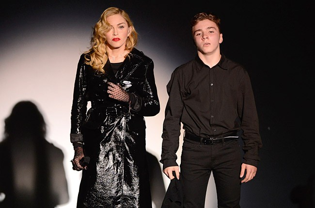 Madonna and Rocco