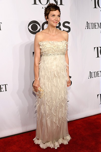 Maggie Gyllenhaal attends the 68th Annual Tony Awards