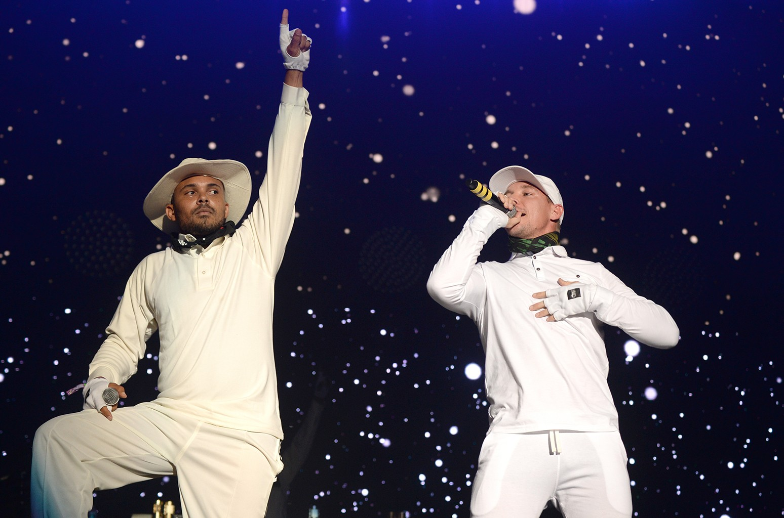 Walshy Fire and Diplo of Major Lazer