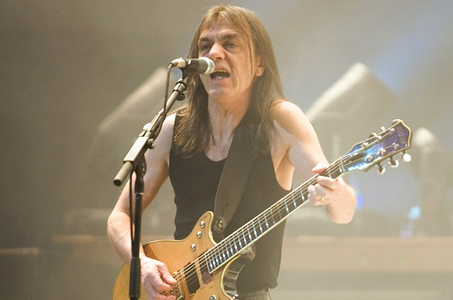 Malcolm Young of AC/DC