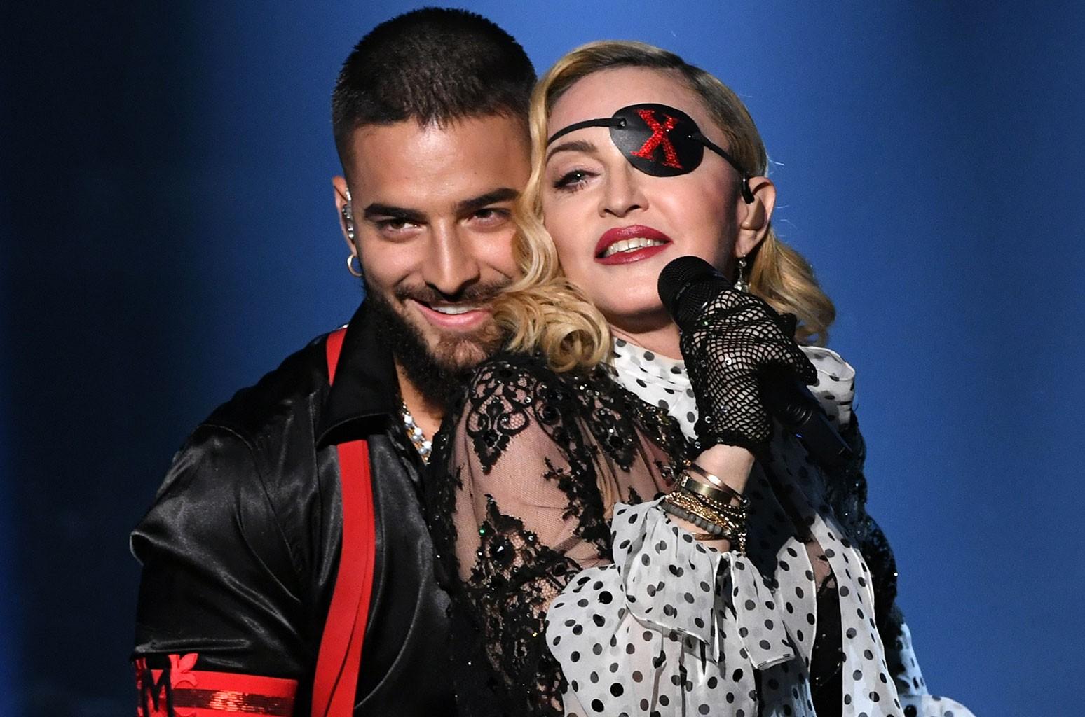 Maluma and Madonna