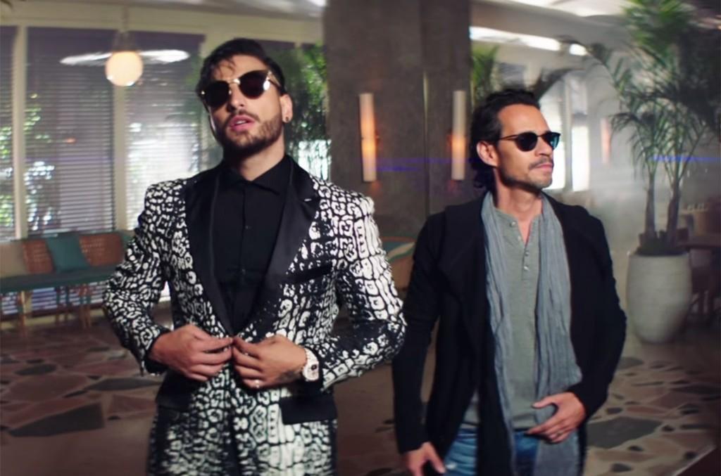 Maluma feat. Marc Anthony, 'Felices los 4'