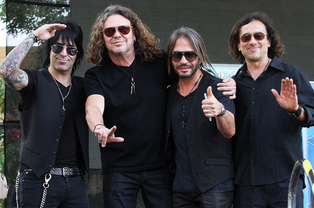 Mana photographed in Mexico City