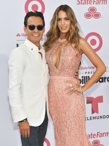 Marc Anthony and Shannon De Lima arrive at 2015 Billboard Latin Music Awards