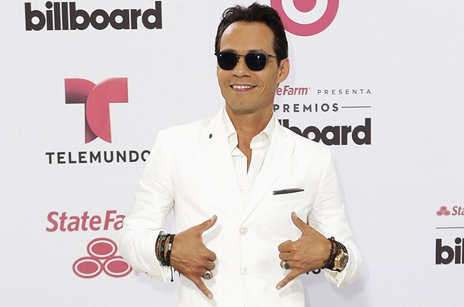 Marc Anthony arrives at the 2015 Billboard Latin Music Awards