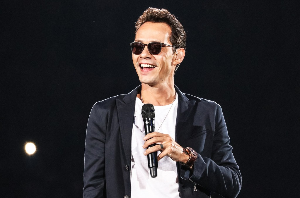 Marc Anthony performs during his tour at American Airlines Arena on Noc. 18, 2016 in Miami.