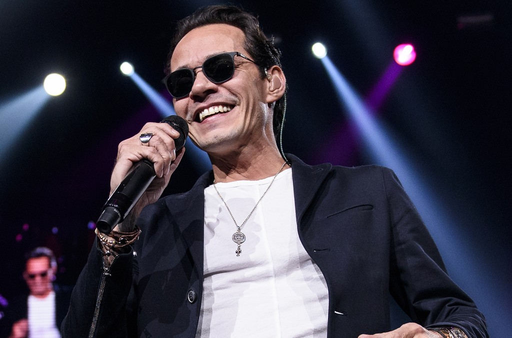 Marc Anthony performs at Prudential Center