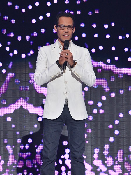 Marc Anthony onstage at the 2015 Billboard Latin Music Awards