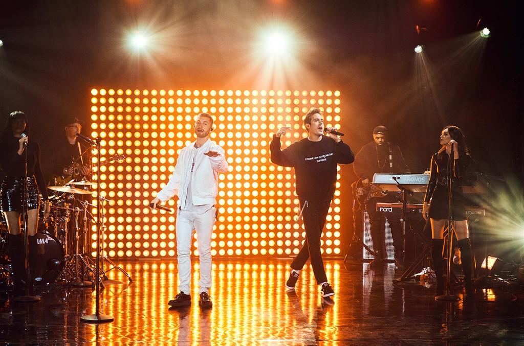 Kurt Russell, Viggo Mortensen, Marc E. Bassy and G-Eazy