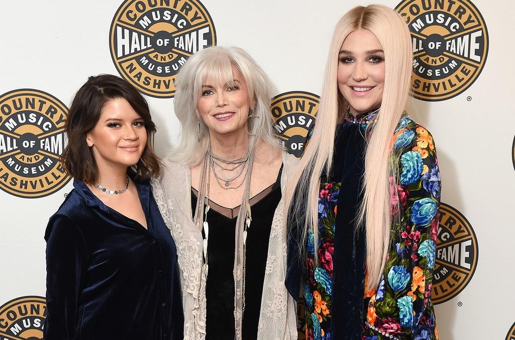 Maren Morris, Emmylou Harris and Kesha