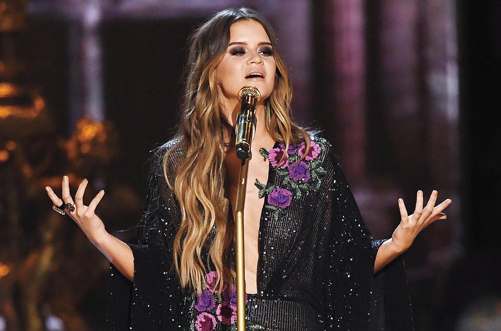 Maren Morris performs onstage during the 59th Grammy Awards at Staples Center on Feb. 12, 2017 in Los Angeles.