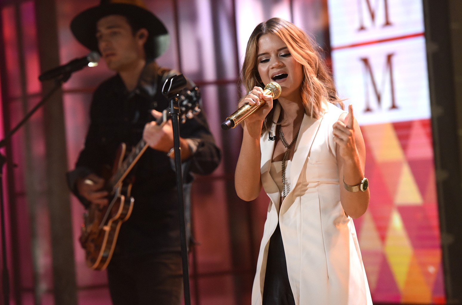 Maren Morris performs on the Today show
