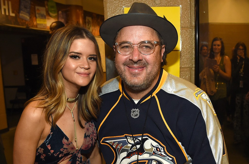 Maren Morris and Vince Gill