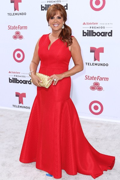 Maria Celeste Arraras arrives at 2015 Billboard Latin Music Awards