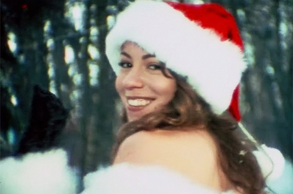 """Mariah Carey, """"All I Want for Christmas Is You"""" (Unreleased Video Footage)"""