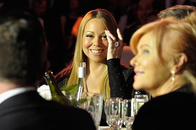 Mariah Carey attends the G'Day USA Black Tie Gala