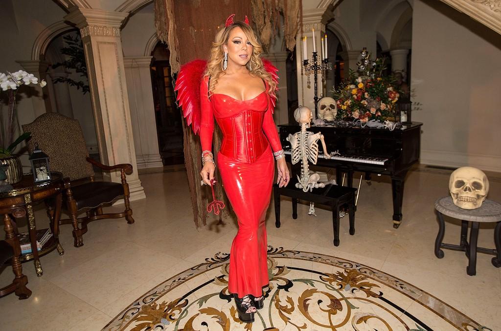 Mariah Carey at her Halloween Party
