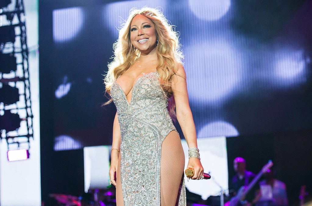 Mariah Carey performs during the 2016 Essence Music Festival